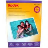 Hartie foto Kodak 5R 13x18 Glossy 200g/mp 50 coli/pachet
