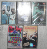 caseta audio Hip Hop/rap romanesc,6ase-6ase & Mark,racla & Anda Adam,Cassa Loco