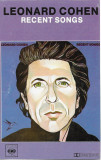 Casetă audio Leonard Cohen – Recent Songs, originală