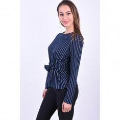 Bluza Pieces Oriak Tie Bleumarin, L, M, S, XL, XS