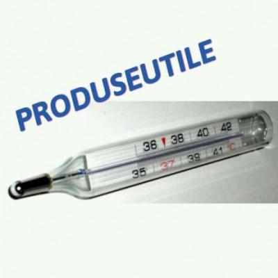 Termometre.Termometru Uman.Termometru Medical Cu Mercur(Clasice) foto