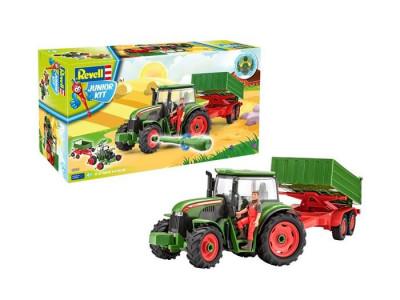 Revell Tractor Si Remorca Cu Figurina - Rv0817 foto
