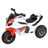 HOMCOM Motocicleta cu trei roti pentru copii 18-36 luni, muzica, far, fara pedale