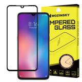 Folie Protectie Ecran WZK pentru Huawei Mate 20 Lite, Sticla securizata, Full Face, Full Glue, Neagra