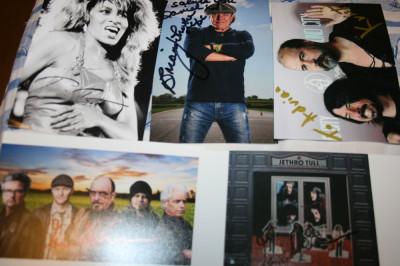 Autografe originale foto