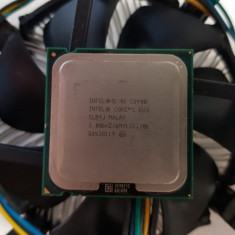 Procesor Intel Core 2 Duo E8400 6M ,3.00 GHz, - poze reale