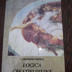 LOGICA CREATIEI DIVINE -CONSTANTIN PORTELLI