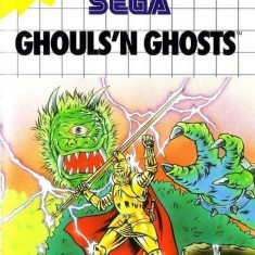 Joc SEGA Master System Ghouls N Ghosts