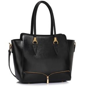 L&S Fashion LS00456 geanta pe umar neagra foto