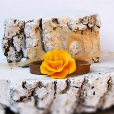 Bratara trandafir galben