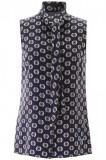 Cumpara ieftin Top dama Prada top with geometric print P429E 1WUY F0216 Multicolor, 40, 42