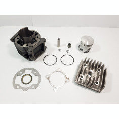 Kit Cilindru Set Motor + Chiuloasa Scuter Italjet Pista 80cc RACIRE AER