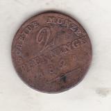 Bnk mnd Prusia 2 pfenninge 1821 A, Europa