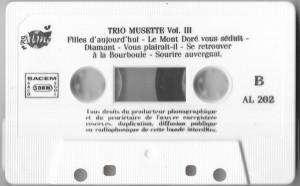 Caseta Trio Musette – C'Est Le Printemps Qui Revient (Trio Musette Vol. 4)
