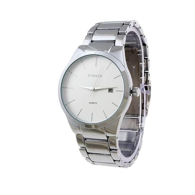 Ceas de mana barbati buisness - elegant Curren Silver M8106SLA