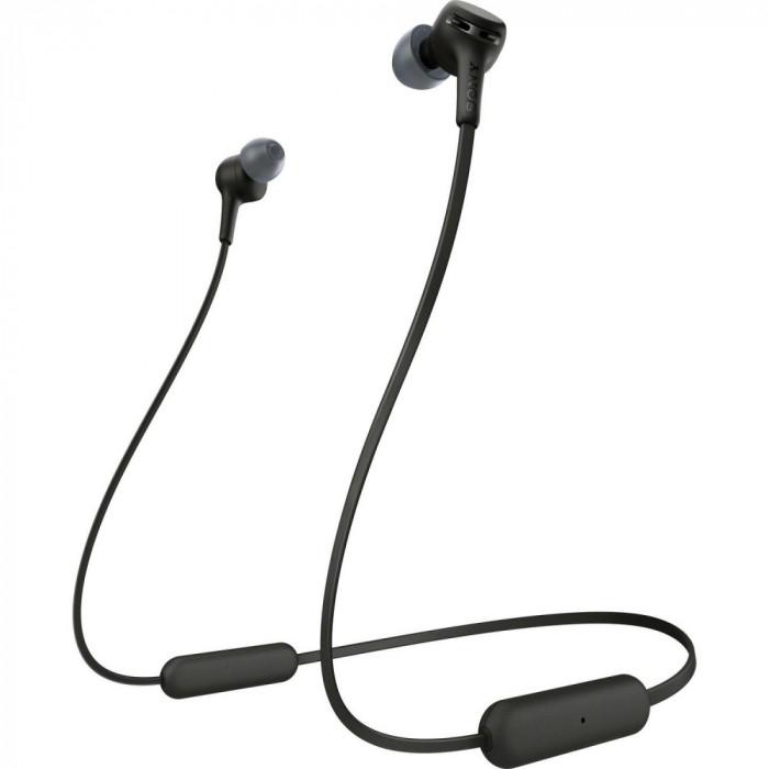 Casti Bluetooth Sony WI-XB400, negru