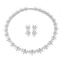 Set Cercei si Colier Luxury Wedding Borealy
