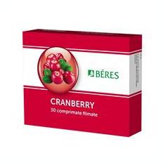 Beres Cranberry 30comprimate Beres Cod: BERE.00007