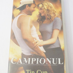 Caseta video VHS originala film tradus Ro - Campionul
