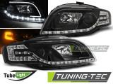 Faruri Audi A4 B7 11.04-03.08 LED TUBE LIGHTS Negru