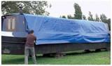 Prelata 3x5M  Impermeabila Gradina casa lemne Husa Camping Capse agatare