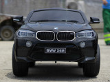 Masina electrica BMW X6M 2x 35W 12V, Music player cu port USB #Negru