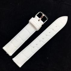 Curea ceas silicon alba cu imprimeu 20mm 22mm WZ1429