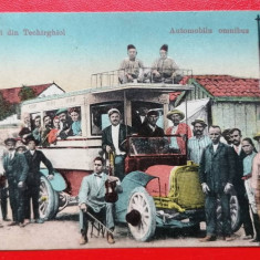 Salutari din Techirghiol Automobilu omnibus