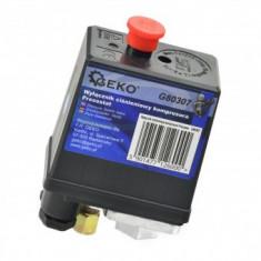 Presostat pentru compresoare Geko G80307, 12 Bar
