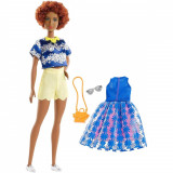 Papusa Barbie Fashionistas 100, Sweet Bloom, FRY80