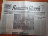 Ziarul romania libera 15 martie 1990-art. intercontinental 21 / 22