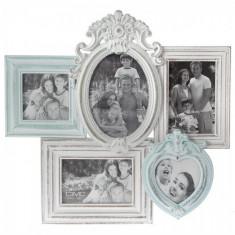 Colaj foto din lemn Antique 45 x 42 cm