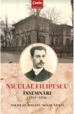 Nicolae Filipescu. Insemnari 1914-1916, Corint