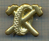 Y 1731 INSIGNA - MILITARA -SEMN DE ARMA - AUTO -PENTRU COLECTIONARI
