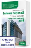 Pregătirea examenului de EVALUARE NAŢIONALĂ în 30 de săptămâni – Limba şi literatura ROMANĂ 2018