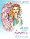 Cumpara ieftin Mesaje de la ingeri. Carte de colorat/Doreen Virtue