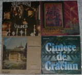4 discuri vinil Craciun,Christmas cu Stefan Hrusca,Madrigal toate 150 lei, CD