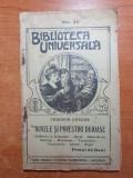 Biblioteca universala 1910-nuvele si povestiri duioase - de theodor korner