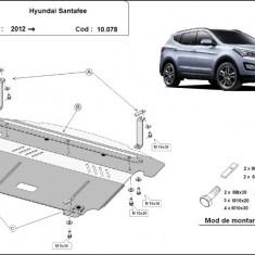 Scut motor metalic Hyundai Santa Fe III 2012-prezent