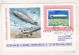 bnk fil Plic zbor omagial Bucuresti Sibiu 1979 - Zeppelin LZ-127