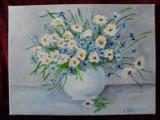 Vas cu flori 3-pictura ulei pe panza, Altul
