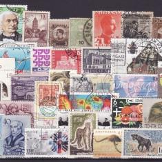 5000 - lot timbre diverse tari
