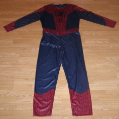 Costum carnaval serbare spiderman pentru adulti marime XL, Din imagine