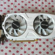 Placa video KFA2 GeForce GTX 1050 TI EX OC White 4GB DDR5 128-bit.