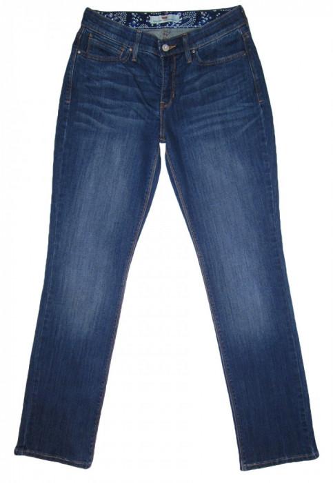 "Blugi Dama Levis Jeans LEVI'S 525 ""STRAIGHT LEG"" - MARIME: 8 M - (Talie 78 CM)"