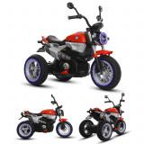 Motocicleta electrica pentru copii VB-12 cu player usb, mers cu spatele, roti si far cu led