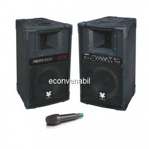 Boxe audio active Bluetooth Radio USB 240W 12 Inch Vlliodor DS2022