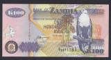 A3486 Zambia 100 kwacha 1992 UNC