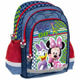 Ghiozdan rucsac scoala Minnie Mouse Style on the Go Starpak, Fata