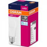 Bec Led Osram, E27, LED VALUE Classic A, 13W (100W) 220-240V, lumina rece (6500K), 1521 lumeni, durata de viata 15.000 ore, clasa energetica A+